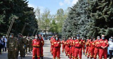 Un nou sprijin din România pentru țara nostră. 12 medici și o aeronavă militară