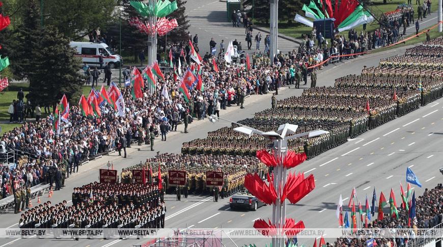 Foto 9 мая в Минске прошел военный парад по случаю Дня победы 3 25.07.2021