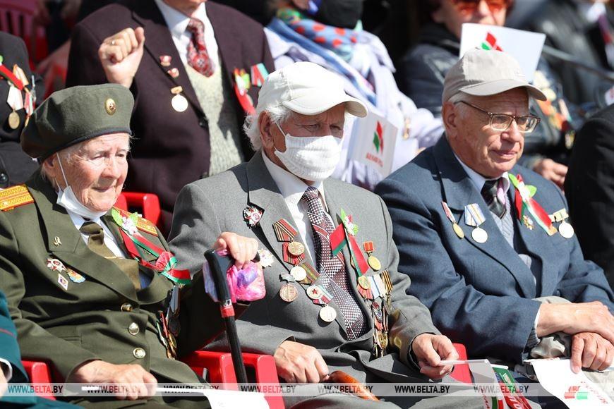 Foto 9 мая в Минске прошел военный парад по случаю Дня победы 4 25.07.2021