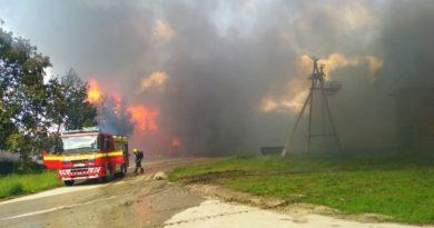 Incendiu de proporții în satul Bârlădeni din raionul Ocnița 4 15.05.2021
