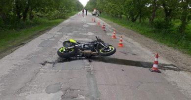 /FOTO/ Alt accident de motocicletă. Un tânăr din raionul Briceni a murit în drum spre spital