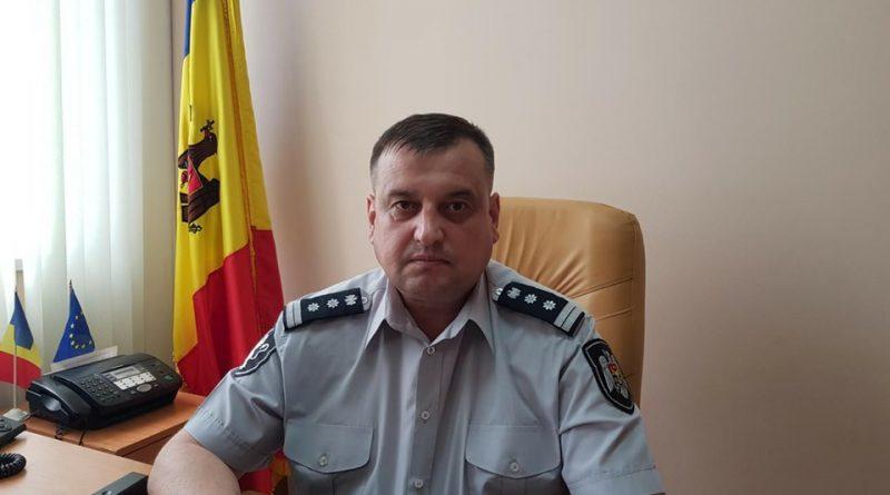 Cine este noul șef al Inspectoratului de Poliție Dondușeni