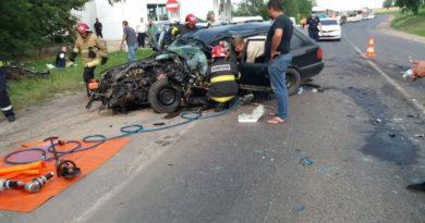 /VIDEO/ Grav accident pe centura orașului Bălți. Două persoane au ajuns la spital
