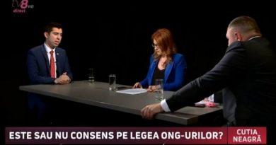 Депутат социалист Г. Новак дал пощечину вице-председателю парламента М. Попшою в студии телеканала tv8 3 17.04.2021