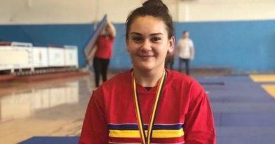 O tânără din Sângerei reprezintă România la campionatele de judo