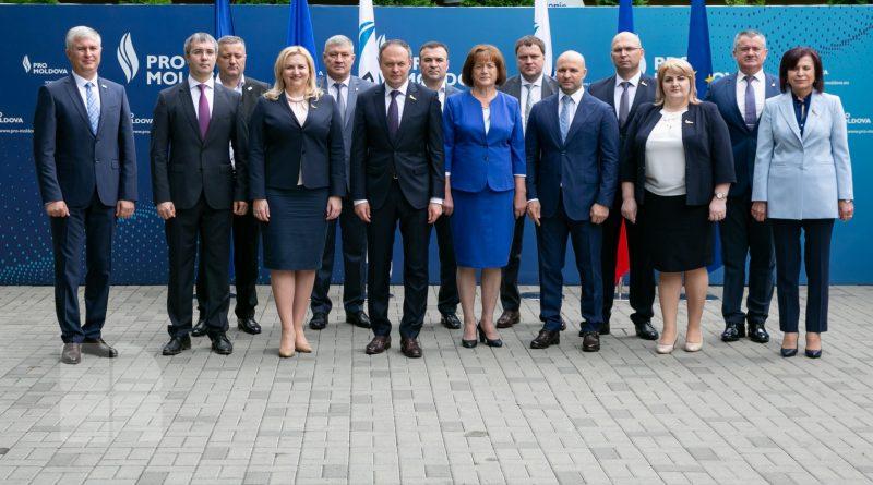 """Foto Новая политическая партия """"Pro Moldova"""" зарегистрирована в Республике Молдова 1 23.06.2021"""