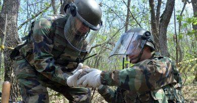 Aproximativ 800 de obiective explozive au fost depistate într-o lună pe teritoriul Republicii Moldova