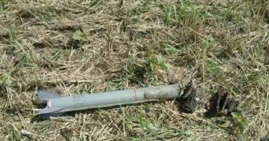 O rachetă antigrindină a fost găsită într-un lan de grâu din raionul Sângerei