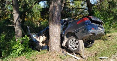 /FOTO/ Accident matinal în raionul Râșcani. Conducătorul auto a ajuns la spital