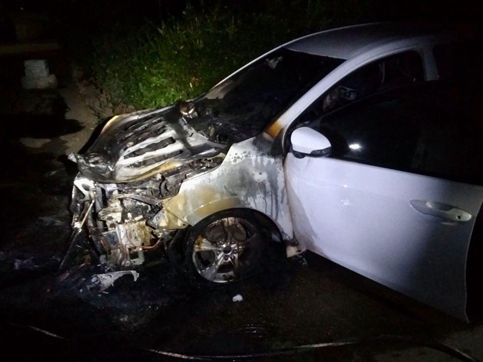 Foto /FOTO/ Un alt automobil a fost cuprins de flăcări la Bălți 1 16.06.2021