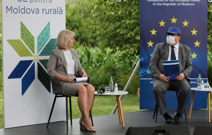 Представительство Европейского союза в Республике Молдова дало старт в онлайн-формате кампании «ЕС для сельской Молдовы» 14 15.05.2021