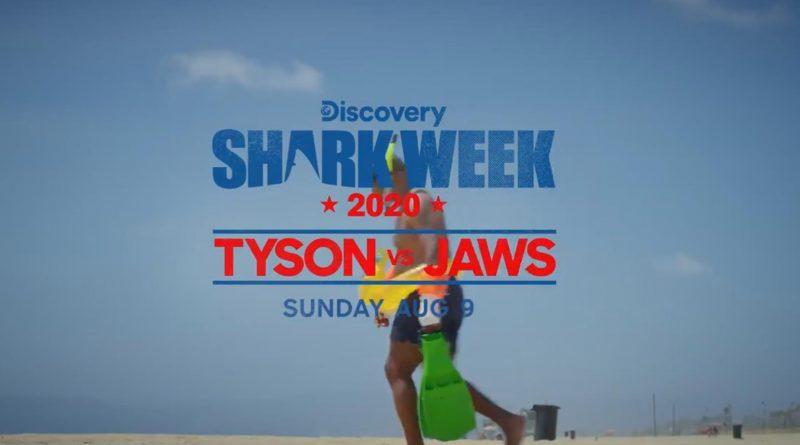 Майк Тайсон проведёт поединок с белой акулой 1 12.04.2021