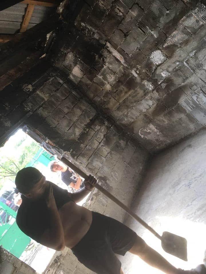 Foto /FOTO/ Casă mistuită de flăcări în orașul Drochia. O familie cu nouă copii a rămas fără adăpost 2 25.07.2021