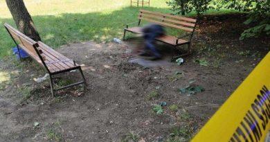 Foto Во дворе жилого дома в Кишиневе взорвалась граната 2 23.06.2021