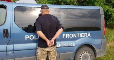Bărbat căutat pentru trecerea ilegalăa frontierei reținut în centrul orașului Bălți