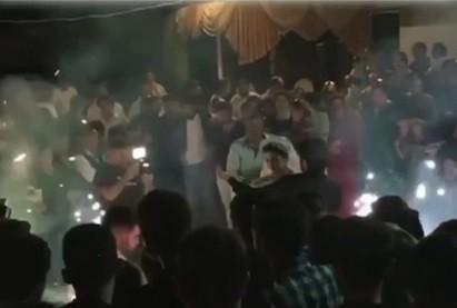 /FOTO/ Nuntă pe timp de pandemie. Peste 70 de persoane au participat la o ceremonie în orașul Râșcani 1 12.05.2021