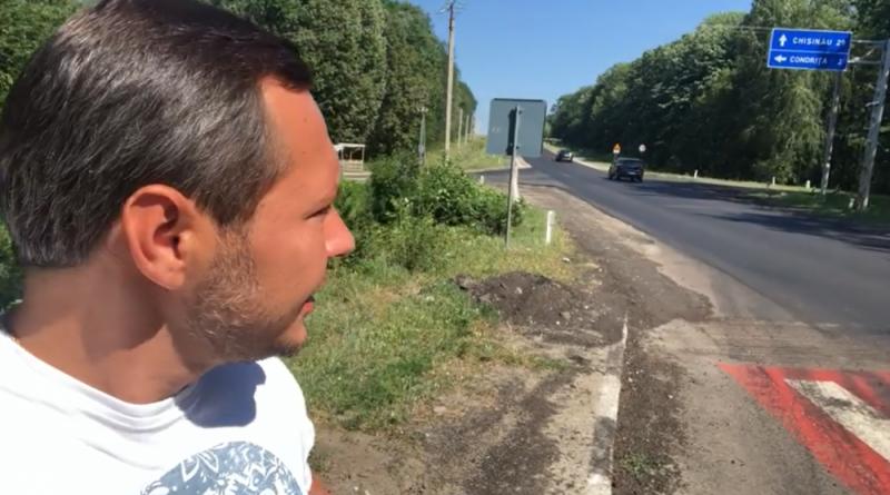 Foto Igor Dodon și-a asfaltat drumul exact până la poarta reședinței de la Condrița 1 16.06.2021