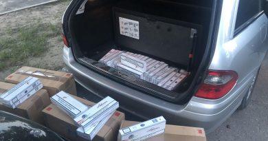 Zeci de mii de țigarete depistate într-un automobil de pe traseul Chișinău – Bălți