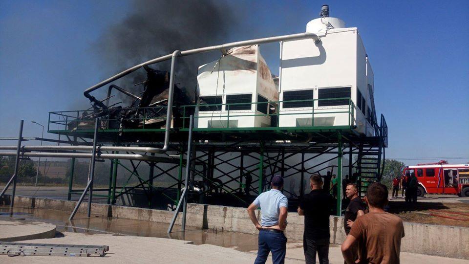 /FOTO/ O instalație frigorifică de la fabrica de sucuri din oraşul Edineţ a fost cuprinsă de flăcări 2 18.05.2021