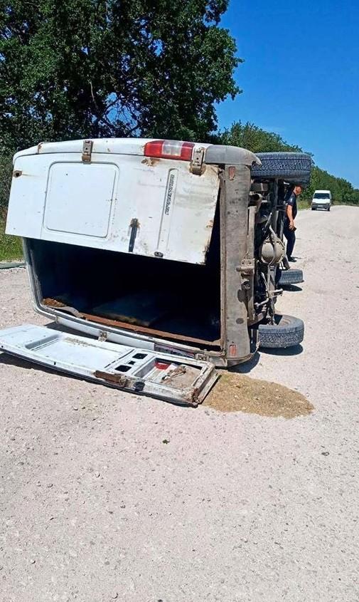Foto /FOTO/ Grav accident în raionul Sângerei. O persoană a rămas blocată în fiarele mașinei pe care o conducea 2 25.07.2021