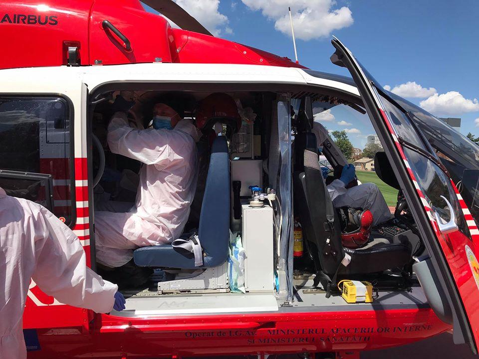 Foto /FOTO/ Intervenție SMURD la Edineț. Un bărbat cu arsuri transportat la Chișinău 1 25.07.2021