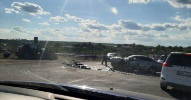 /VIDEO/ Accident violent pe traseul Bălți – Râșcani. O persoană a ajuns la spital