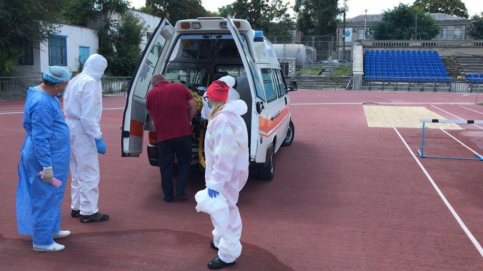 Foto /FOTO/ Intervenție SMURD la Edineț. Un bărbat cu arsuri transportat la Chișinău 4 25.07.2021