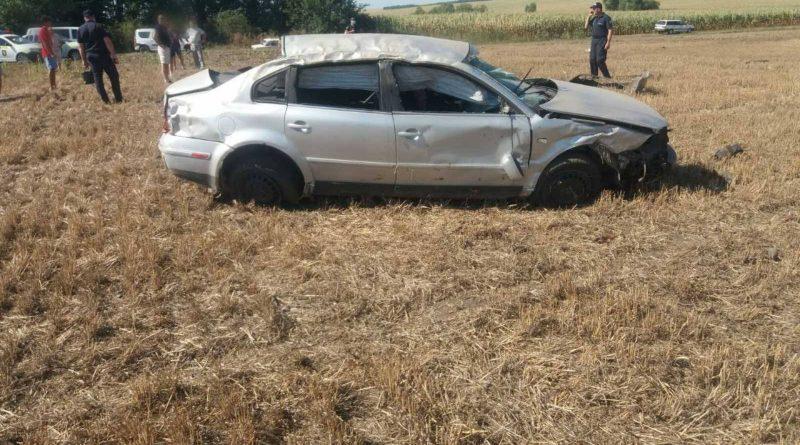 /FOTO/ Grav accident în raionul Edineț. Doi tineri au murit, iar alții doi în stare gravă la spital