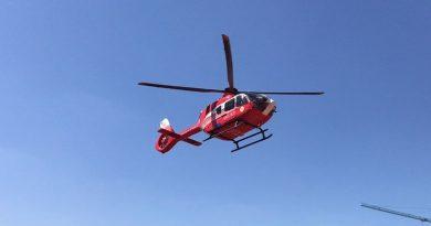 /VIDEO/ Intervenție SMURD la Ocnița. Bărbat de 67 ani transportat cu elicopterul la Chișinău