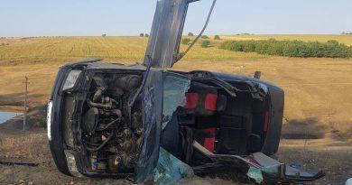 /FOTO/ Grav accident în raionul Râșcani. Un tânăr a murit, iar altul a ajuns la spital