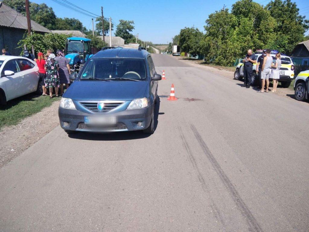 Un tânăr din raionul Soroca a ajuns la spital după ce s-a tamponat cu motocicleta într-un automobil parcat regulamentar 1 15.05.2021