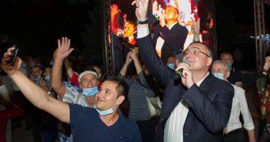 Ренато Усатый объявил об участии в выборах президента Молдовы 2 08.03.2021
