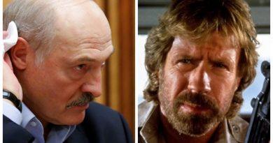 Foto Чак Норрис обратился к президенту Беларуси Александру Лукашенко: «Я приеду к тебе и заставлю плакать» 4 22.09.2021