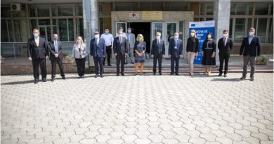 В Кишиневе состоялось открытие Оперативного координационного центра при чрезвычайных ситуациях в области общественного здравоохранения 4 12.05.2021