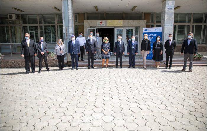 В Кишиневе состоялось открытие Оперативного координационного центра при чрезвычайных ситуациях в области общественного здравоохранения 1 17.04.2021