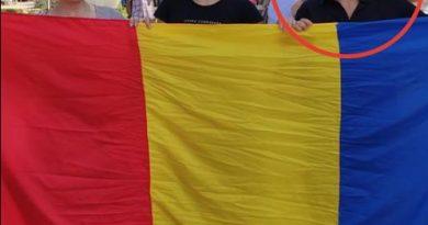 Foto Жительницу Кишинева оштрафовали за румынский флаг 3 24.07.2021