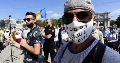 Foto В центре Кишинева на площади Великого национального собрания 23 августа прошел протест за отставку президента Игоря Додона и правительства 2 25.07.2021
