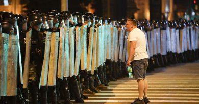 МВД Белоруссии: 3 тысячи задержанных, 100 пострадавших, погибших нет