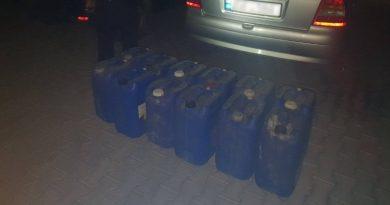 Contrabandă cu alcool etilic în raionul Ocnița