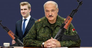 Foto Картофельный Рэмбо и белорусский Гном Гномыч. Реакция соцсетей на Лукашенко и Колю с автоматами 4 25.07.2021
