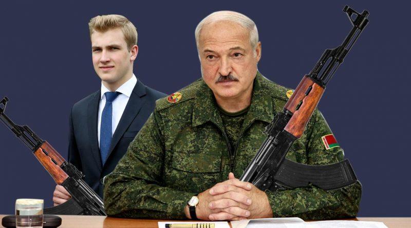 Foto Картофельный Рэмбо и белорусский Гном Гномыч. Реакция соцсетей на Лукашенко и Колю с автоматами 1 29.07.2021