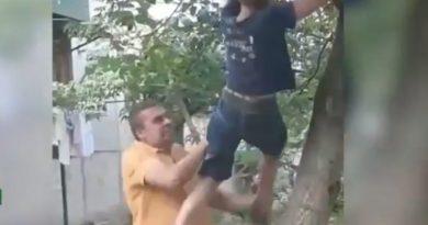 Foto Un copil din Bălți bătut de un fost polițist și pus să își ceară scuze 1 20.09.2021