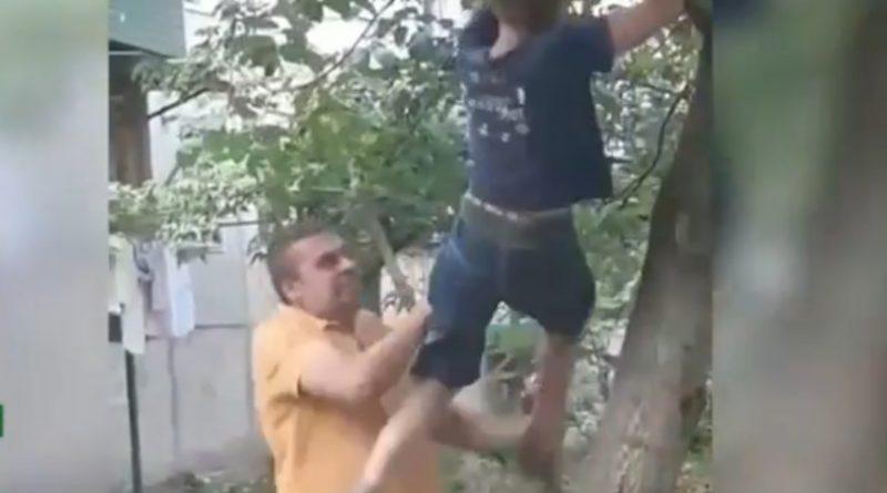 Foto Un copil din Bălți bătut de un fost polițist și pus să își ceară scuze 1 25.07.2021