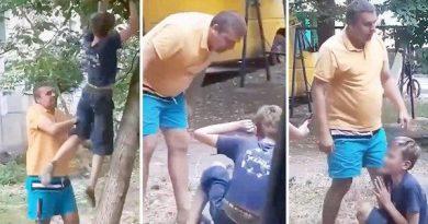 Foto В Бэлць бывший полицейский на игровой площадке напал на ребёнка 3 24.07.2021