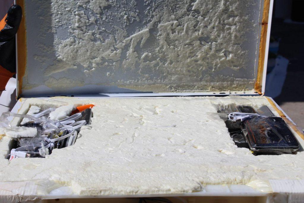 /FOTO/ Trafic de telefoane mobile deconspirat la Penitenciarul din Bălți. Gadget-urile erau ascunse în carcasa unui frigider 4 18.05.2021