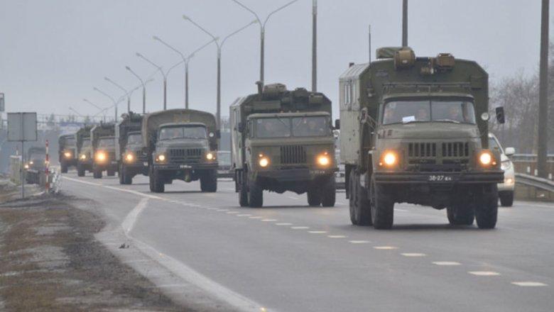 Foto В столицу Белоруссии Минск стягивают войска, численный состав которых составляет около 20 тысяч военных 1 16.06.2021