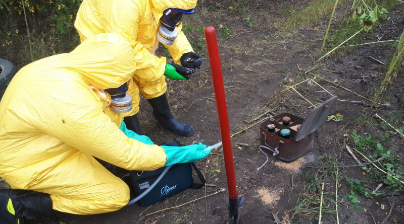 /FOTO/ Aproximativ 20 kilograme de mercur au fost depistate în raionul Glodeni