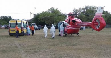/VIDEO/ Grav accident în raionul Râșcani. Un tânăr a fost transportat cu un elicopter SMURD la Chișinău