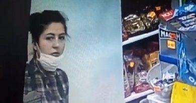 /VIDEO/ Femeie căutată de poliția din Bălți pentru furt din magazin