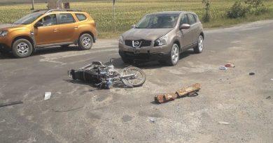 Un bărbat și un copil de 2 ani au ajuns la spital în urma unui accident produs în raionul Sângerei